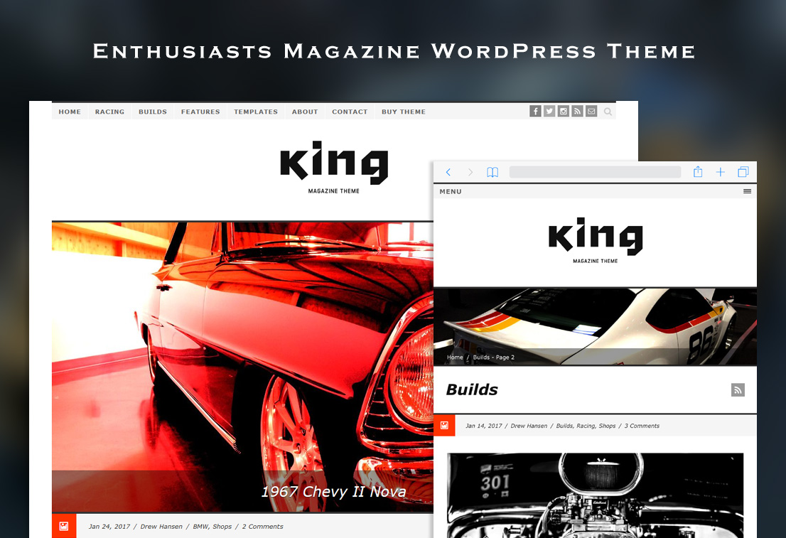 King WordPress Theme